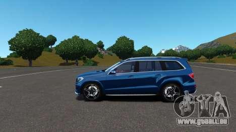 Mercedes-Benz GL 63 AMG pour GTA 4 est un côté