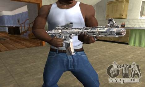 Grade M4 pour GTA San Andreas troisième écran