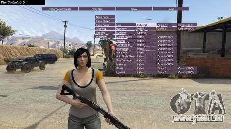 GTA 5 Skin Control 2.0 vierten Screenshot
