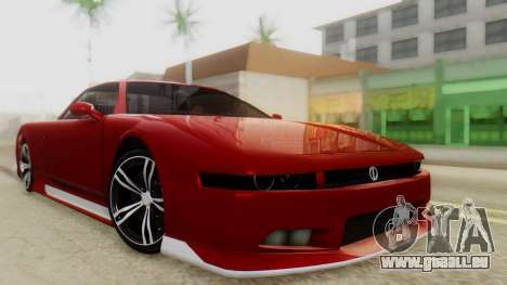 Infernus BMW Revolution with Plate für GTA San Andreas