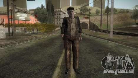 RE4 Don Diego without Hat pour GTA San Andreas deuxième écran