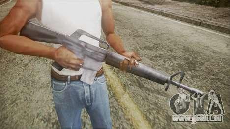 M16 pour GTA San Andreas troisième écran