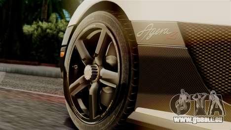 NFS Rivals Koenigsegg Agera R Racer pour GTA San Andreas vue de droite