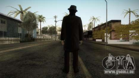 Sherlock Holmes v3 pour GTA San Andreas troisième écran