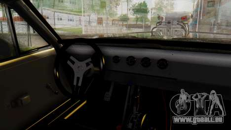Dodge Charger RT 1970 Fast & Furious pour GTA San Andreas vue de droite