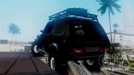 VAZ 2121 Niva Offroad für GTA San Andreas linke Ansicht