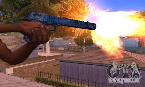 Deagle Blue für GTA San Andreas