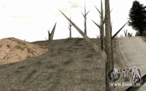 Les arbres sans feuilles pour GTA San Andreas deuxième écran