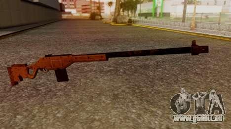 A Police Marksman Rifle pour GTA San Andreas