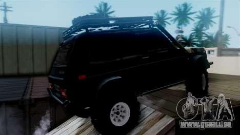 VAZ 2121 Niva Offroad für GTA San Andreas zurück linke Ansicht