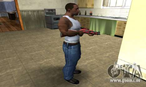 Blood Shotgun für GTA San Andreas dritten Screenshot