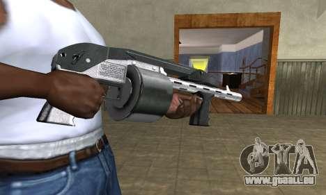 Silver Granate Combat Shotgun pour GTA San Andreas