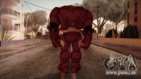 Classic Hulkbuster pour GTA San Andreas troisième écran