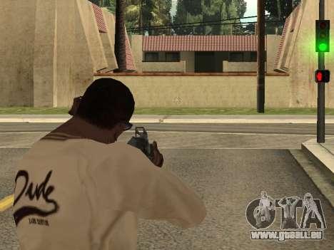 Cleo Weapon Zoom pour GTA San Andreas troisième écran