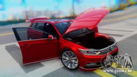 Volkswagen Passat Variant R-Line pour GTA San Andreas vue de côté