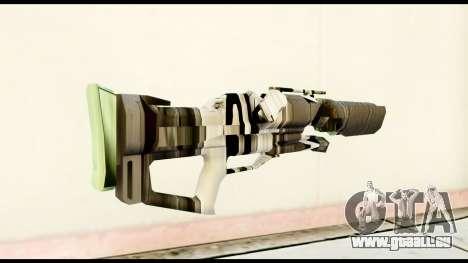 Rocket Launcher from Crysis 2 pour GTA San Andreas deuxième écran