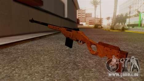 A Police Marksman Rifle pour GTA San Andreas deuxième écran