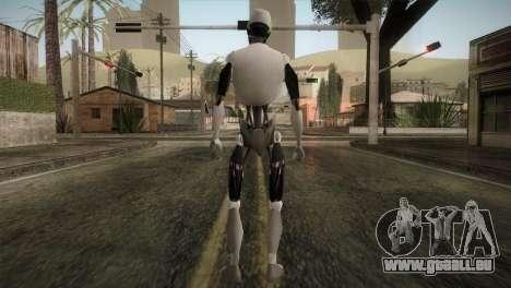 I am a Robot Skin pour GTA San Andreas troisième écran