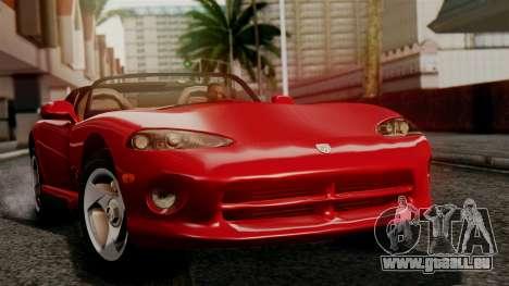Dodge Viper RT 10 1992 für GTA San Andreas