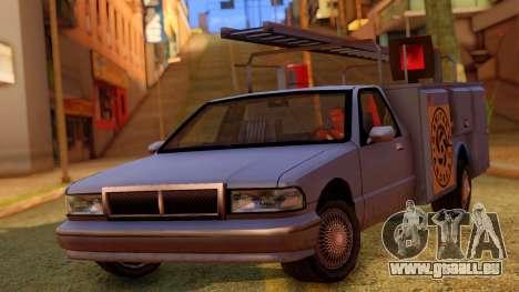 Premier Utility Van pour GTA San Andreas