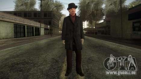 Sherlock Holmes v2 pour GTA San Andreas deuxième écran