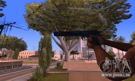 Deagle Blue für GTA San Andreas dritten Screenshot