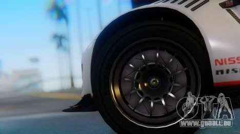 Nissan GT-R GT1 Sumo pour GTA San Andreas sur la vue arrière gauche