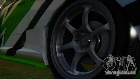 Nissan Skyline GT-R R32 für GTA San Andreas rechten Ansicht