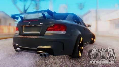 BMW M1 Tuned pour GTA San Andreas laissé vue