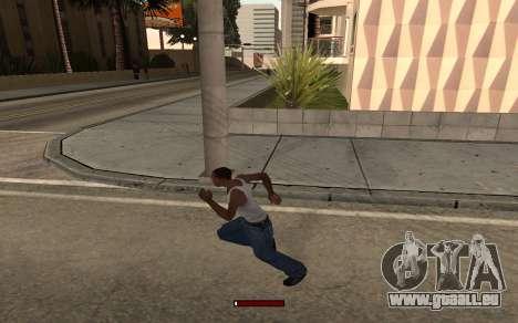 SprintBar pour GTA San Andreas troisième écran