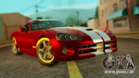Dodge Viper SRT10 pour GTA San Andreas