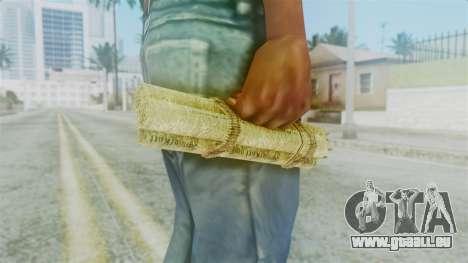 Red Dead Redemption Satchel für GTA San Andreas zweiten Screenshot