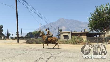 GTA 5 Ride A Deer [.NET] 0.2b