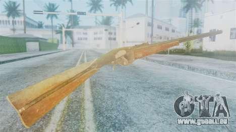 Red Dead Redemption Rifle für GTA San Andreas zweiten Screenshot