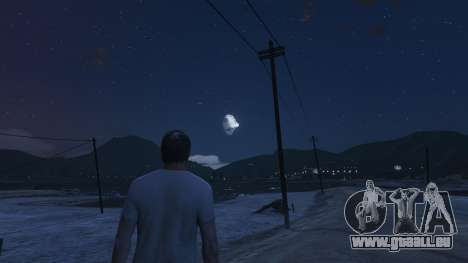 GTA 5 DeathStar Moon v3 Incomplete Deathstar dritten Screenshot