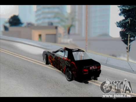 Elegy Lumus pour GTA San Andreas moteur