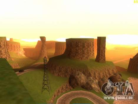 Green desert de Las Venturas v2.0 pour GTA San Andreas