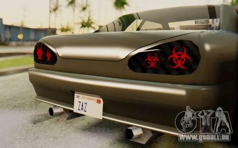 Radioactive Elegy für GTA San Andreas zurück linke Ansicht