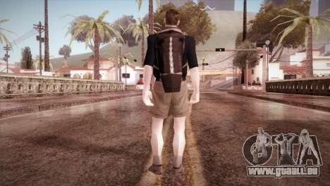 Écolier pour GTA San Andreas troisième écran