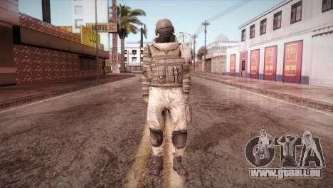 Armored Soldier pour GTA San Andreas deuxième écran