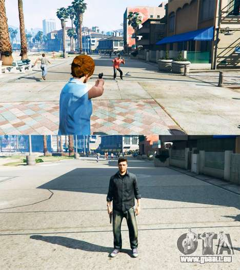 Ped Transform v0.2 pour GTA 5