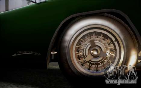 GTA 5 Vapid Peyote IVF pour GTA San Andreas sur la vue arrière gauche