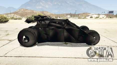 GTA 5 Batmobile v0.1 [alpha] linke Seitenansicht