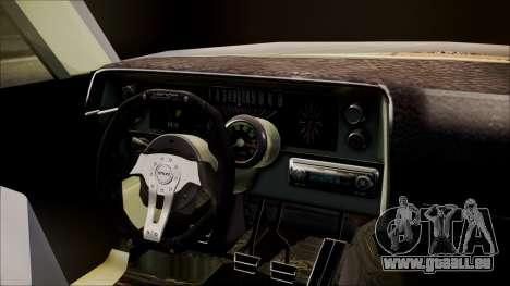 Ford Falcon 3.0 pour GTA San Andreas sur la vue arrière gauche