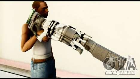 Rocket Launcher from Crysis 2 pour GTA San Andreas troisième écran
