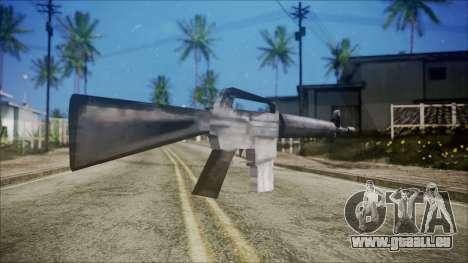 M16 pour GTA San Andreas deuxième écran