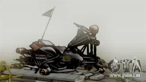 Hexer Moto Jet für GTA San Andreas linke Ansicht