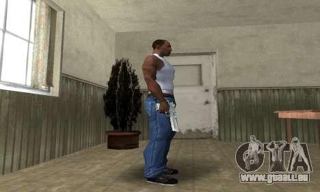Cool Silver Deagle für GTA San Andreas dritten Screenshot
