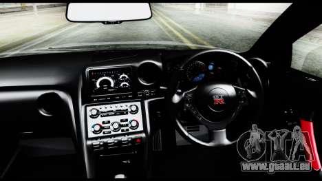 Nissan GT-R R35 2012 pour GTA San Andreas vue de droite