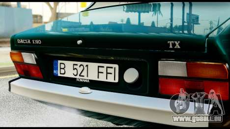 Dacia 1310 Carrera pour GTA San Andreas vue de droite